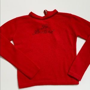 I Pinco Pallino Girls Italian Sweater Size 6
